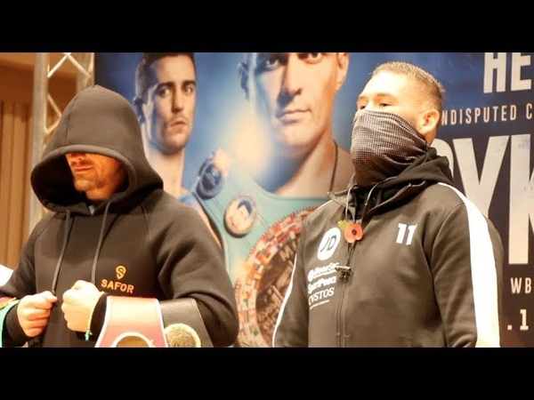 COLD STARES! - OLEKSANDR USYK v TONY BELLEW - HEAD TO HEAD @ FINAL PRESS CONFERENCE HE WHO DARES
