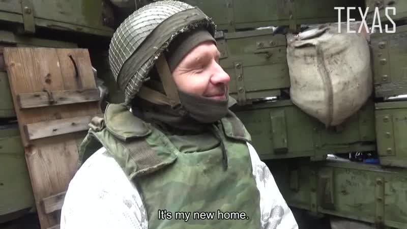 TEXAS VISITS DONBASS DEFENDERS IN SPARTAK (ENG_RUS SUBS) _ Техас и защитники Донбасса на Спартаке