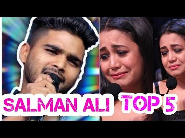 Best of Salman Ali Part 3 - Top 5 Performances of Salman Ali Indian Idol