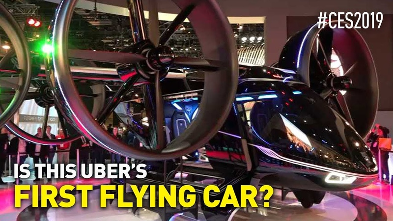 CES 2019 Day 1: VR Roller Coaster, Air Taxi (Uber's First Flying Car?), Autonomous Bus and More!