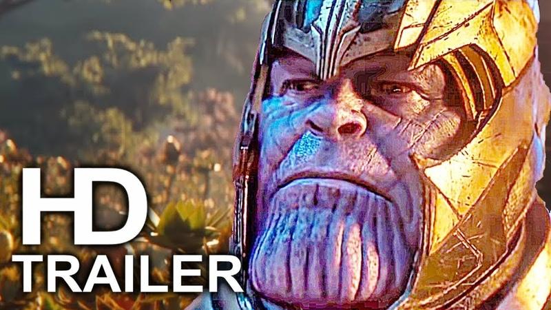 AVENGERS 4 ENDGAME Thanos Won Trailer NEW (2019) Marvel Superhero Movie HD