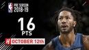 Derrick Rose Full Highlights Timberwolves vs Bucks - 2018.10.12 - 16 Pts, 4 Reb, 2 Ast!