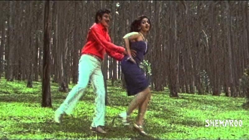 Kanchu Kagada Telugu Movie Songs - Singari Sigge Andam Song - Krishna, Sridevi