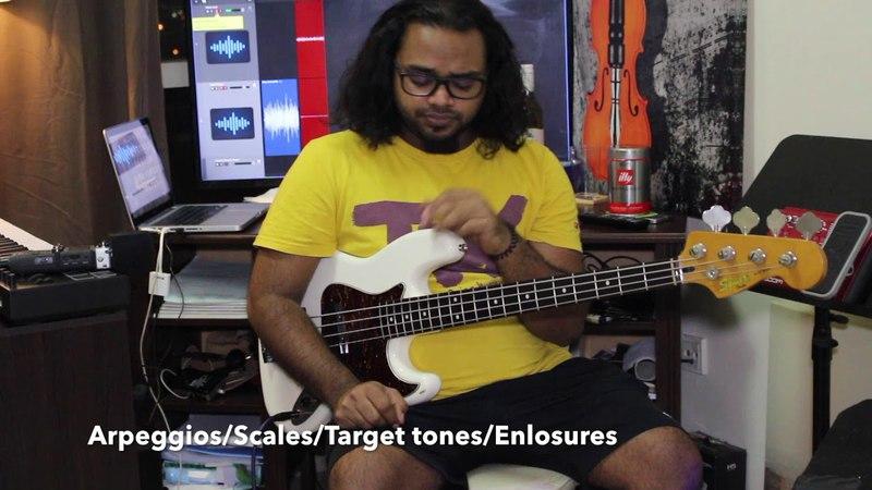 Jazz Soloing Essentials: Bebop: Part 1 - Target Tones and Enclosures