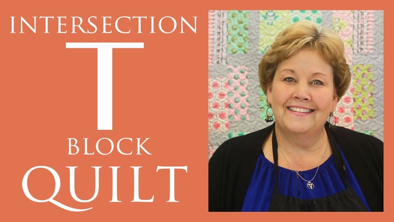 Intersection or T-Block Quilt Easy Quilting Tutorial with Jenny Doan of Missouri Star Quilt Co