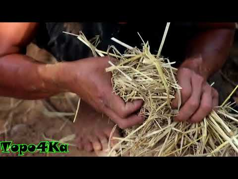Make Reusable charcoal mound (Изготовление многоразового древесного угля)