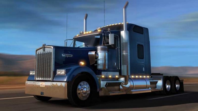 American Truck Simulator | Coast to Coast 2.5 CanaDream VivaMexico