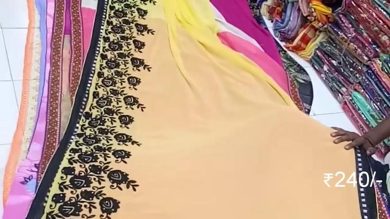Surat Textile Market | Cheapest rate Sarees In Surat | Wholesale sarees market 'll itechatif