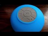 Экстрим тест! Блютус колонка BTS06 с banggood-тест, купание_bluetooth speaker-test,diving,opening