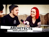 ARCHITECTS - Tom Searle &amp Dan Searle on the new album and homicidal taxi drivers www.pitcam.tv