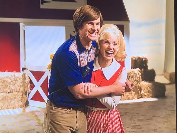 Джессика Честейн и Эндрю Гарфилд на первом кадре байопика «Глаза Тэмми Фэй»