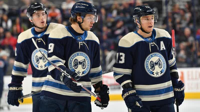 НХЛ 2018 2019 Коламбус Блю Джекетс Нэшвилл Предаторз 4 3 ОТ 10.01.2019