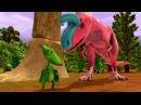 🚂 Поезд 🚋 Динозавров мультик про динозавров 1 сезон 19 без остановки на русском...