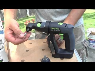 Festool CXS Compact Cordless Drill Demo and Open Box
