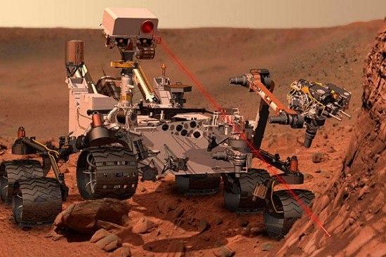 Марсохід Curiosity на Марсі