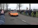 Lamborghini Aventador LP750 4 SuperVeloce Launch Control Revs Accelerations