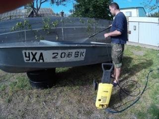 МКМ,НАЧАЛО, sj4000, тюнинг, ремонт, доработка лодки