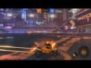 Rocket league - Мощный дальний удар-рикошет