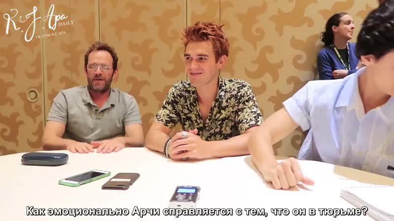 2018 › интервью для «Clevver News» в рамках конвенции «Comic Con» › 21 июля (русские субтитры)