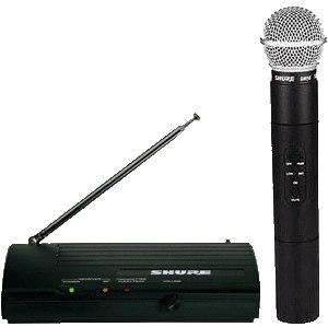 Студийный беспроводный микрофон Shure SM58