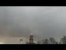 Сильный ветер в Яхроме.