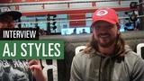 WWE Superstar AJ Styles im Interview
