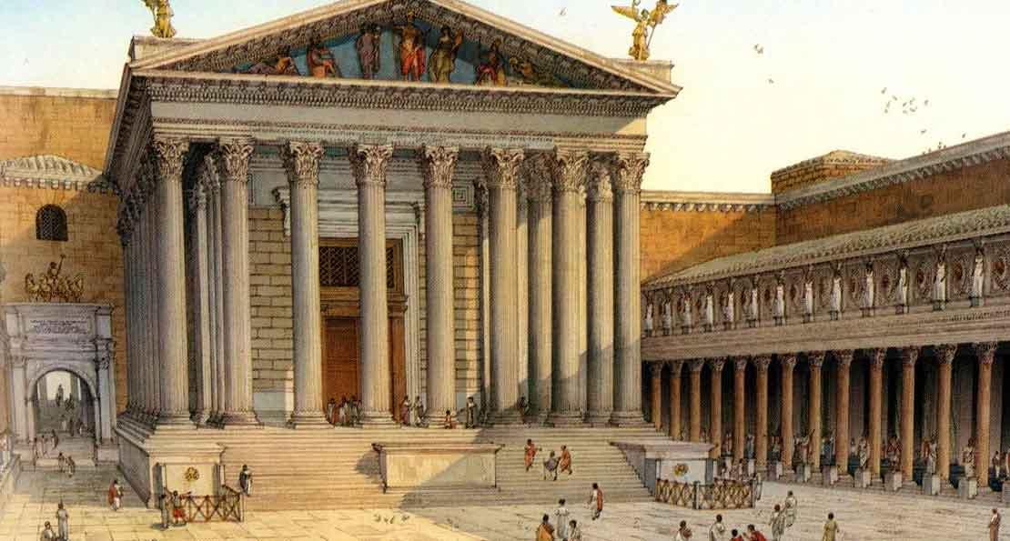Римские храмы