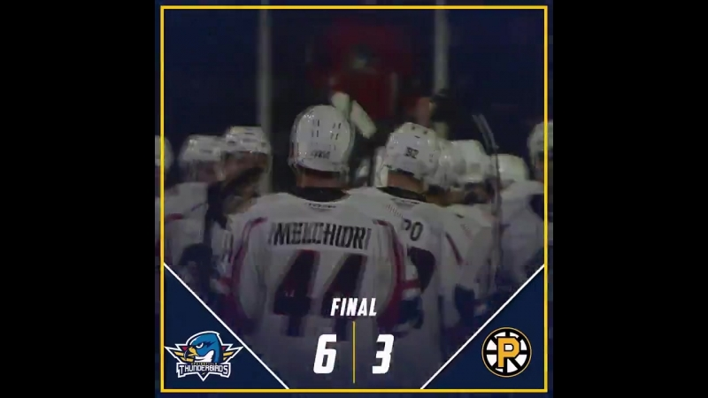 T-Birds offensive onslaught downs AHLBruins. RiseUp