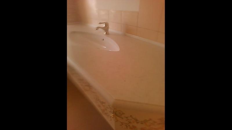 Кварцевый агломерат в ванную ❗️
