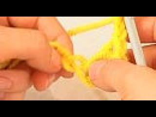 Вязание крючком. Видеоурок 5. Пышный столбик. Смотреть онлайн - Видео - bigmir)net