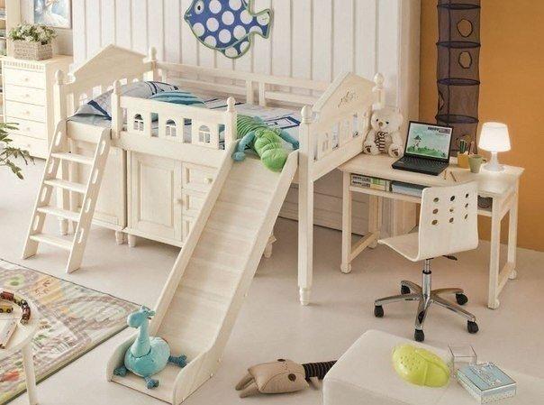 Детская комната, которая непременно понравится вашему малышу… (1 фото) - картинка