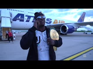 R-truth loses the 24_7 title on the airport tarmac