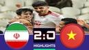 Iran vs Vietnam 2-0 Highlight All Goals 12/01/2019