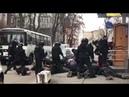 В Киеве упаковали с десяток нацимартышек с14