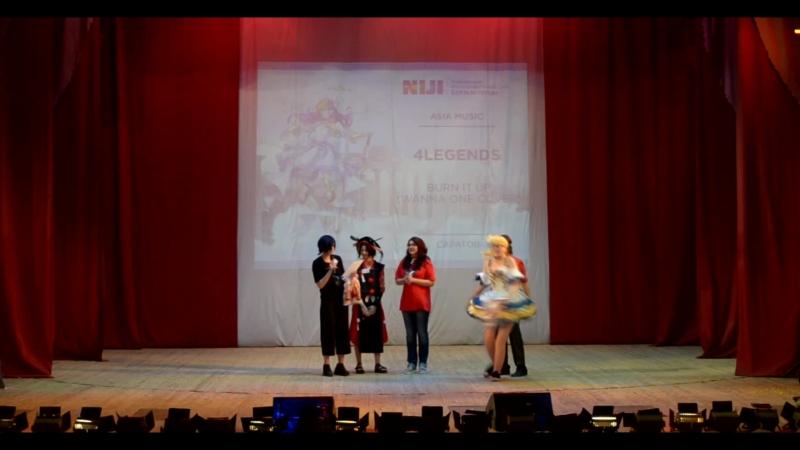 Награждение победителей Часть 3 Закрытие фестиваля NIJI 2018 30 06 2018