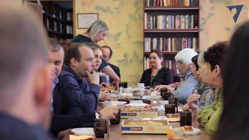 Встреча с жителями Волгоградского дома-интерната для престарелых и инвалидов