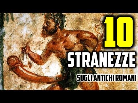 10 STRANE CURIOSITÀ SUGLI ANTICHI ROMANI