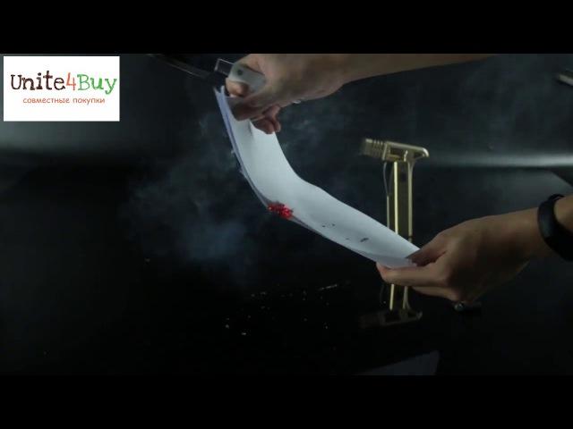 Обзор Blackview BV7000 Pro тест раскаленным ножом