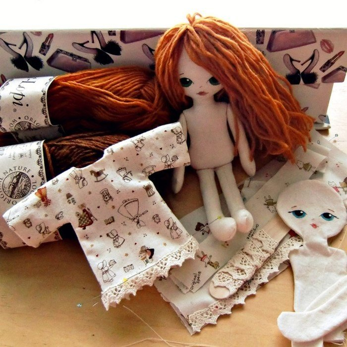 Как сшить куклу из ткани своими руками