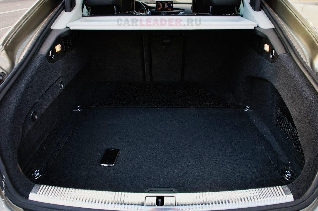 Багажник в Audi A7