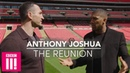 Anthony Joshua Wladimir Klitschko Reunite 1 Year After The Big Fight