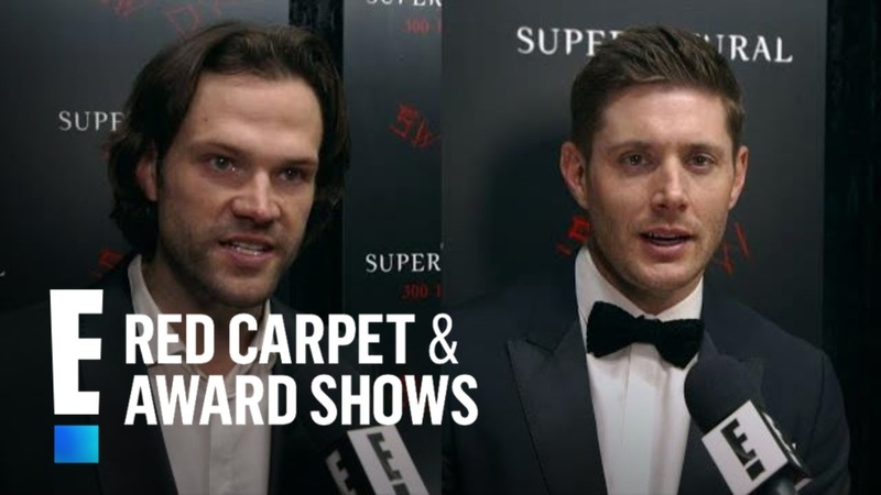Supernatural Stars Spoil Season 14 With Rapid-Fire Questions | E! Red Carpet Award Shows