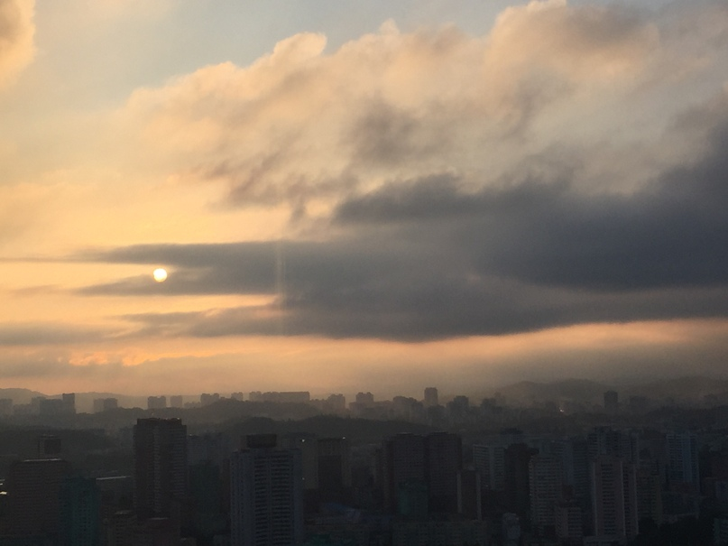 Отчет о путешествии в Северную Корею Вечерний Пхеньян