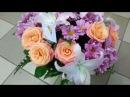 Букет из роз, лилий и хризантем Надежда