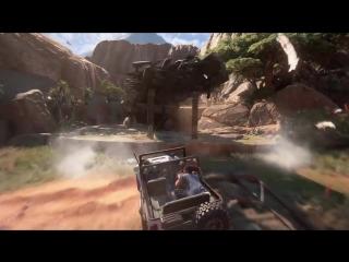 Uncharted 4 Путь вора ЛУЧШЕЕ приключение Дрейка Обзор