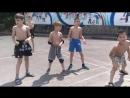 Подвижная игра Тим, дети 6-8 лет, клуб Будо3