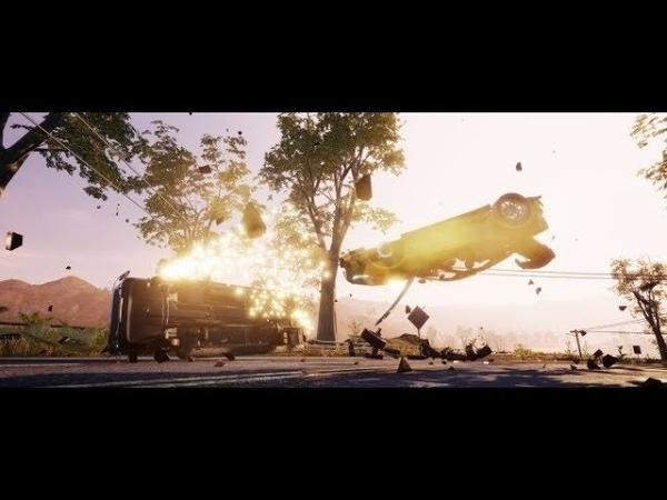 Бешеная скорость и тачки в хлам вышел релизный трейлер игры Dangerous Driving от авторов Burnout