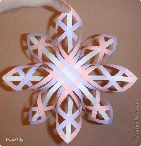 Зимние снежинки своими руками
