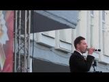Дмитрий Дмитриев - гимн Санкт-Петербургу(сл и муз. .Кваша)(9 мая,2018 г,Сестрорецк)