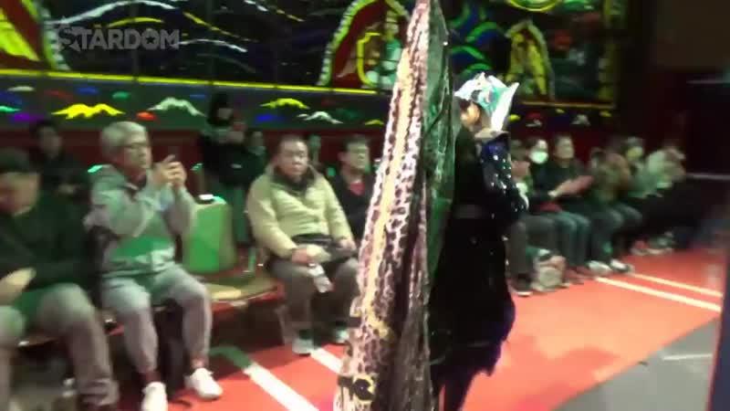 Momo Watanabe (c) vs. Jamie Hayter